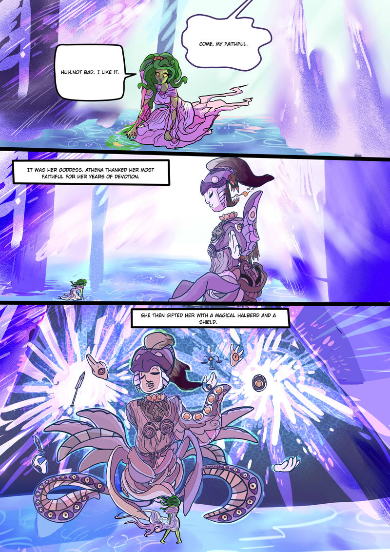 Medusa:Warrior of Justice the Graphic novel Pg 9 by BubbleDriver