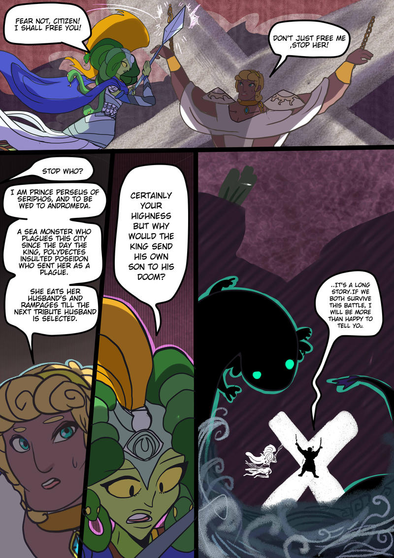 Medusa:Warrior of Justice the Graphic novel Pg 14 by BubbleDriver