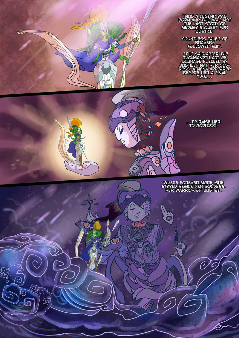 Medusa:Warrior of Justice the Graphic novel Pg 22 by BubbleDriver