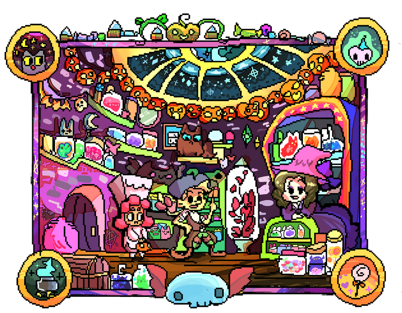 The Potion store by BubbleDriver