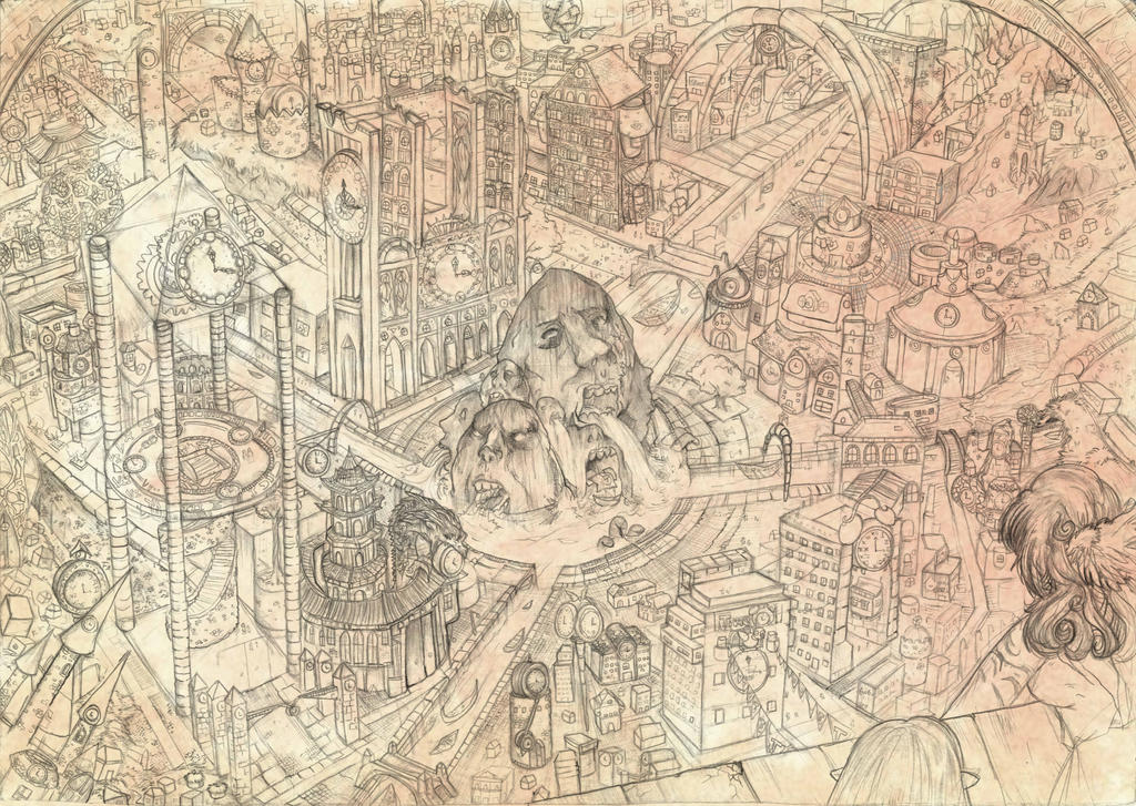 City of Stone by BubbleDriver