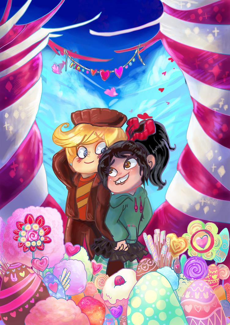 Wreck it Ralph commision Vanilla Butter by BubbleDriver