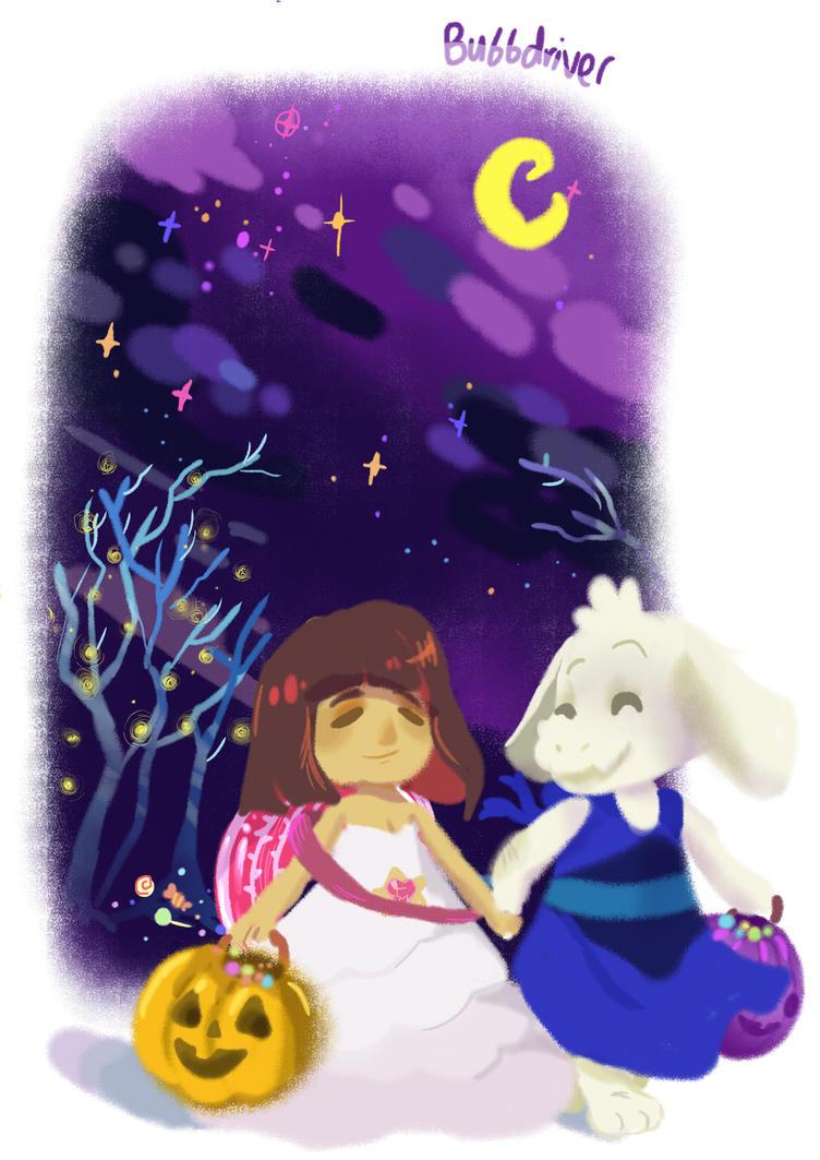 Undertale Halloween by BubbleDriver on DeviantArt