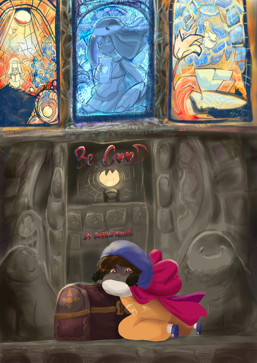 Be Good a Collaborative comic by BubbleDriver