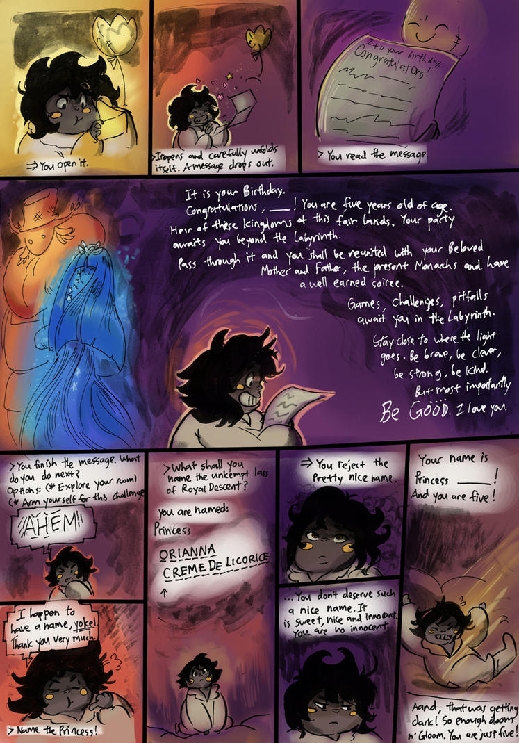 Be Good page 2 redone by BubbleDriver