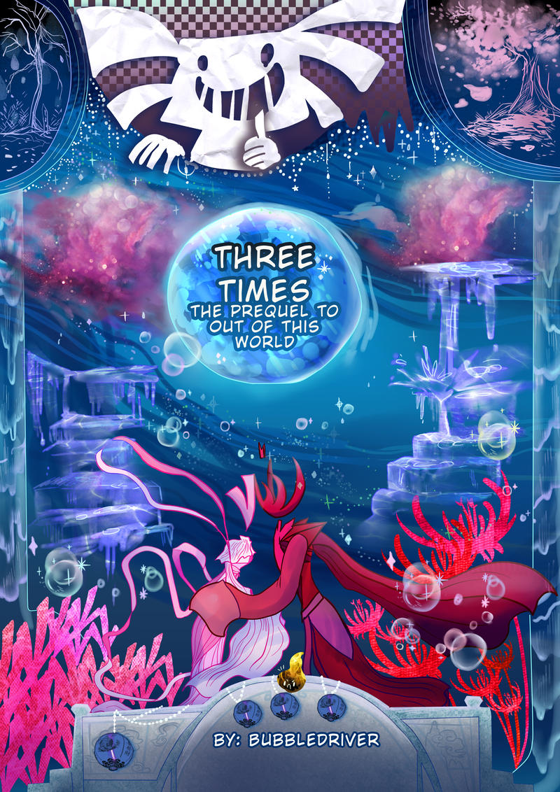 Three Times the Comic by BubbleDriver