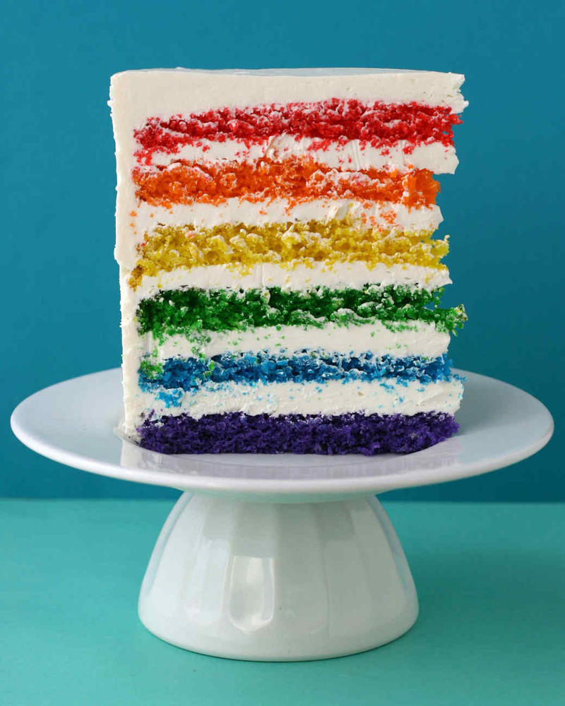 5140 042010 Rainbow Cake Vert by BubbleDriver
