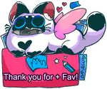 Thank you for supporting my artses!