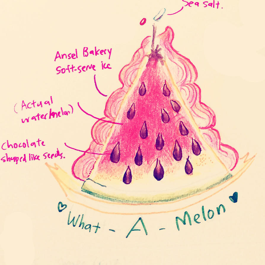 Japan Food What a Melon by BubbleDriver