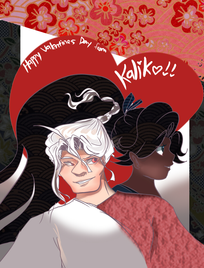 Happy Valentines day from Kaliko! by BubbleDriver