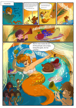 Scaley courtship pg 2 : False Gods