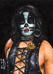 KISS-THE CAT SKETCH CARD by AHochrein2010