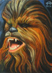 CHEWBACCA OIL PAINTED PSC