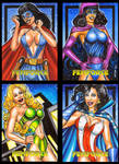 FEMFORCE AP SKETCH CARDS