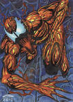 CARNAGE PERSONAL SKETCH CARD 2012A