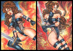 AVENGELYNE PERSONAL SKETCH CARDS