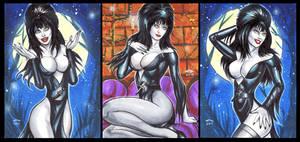 ELVIRA PERSONAL SKETCH CARDS
