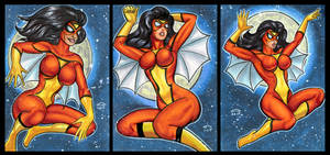 SPIDER WOMAN PERSONAL SKETCH CARDS