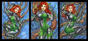 POISON IVY PERSONAL SKETCH CARDS