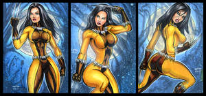 X-23 FANG PERSONAL SKETCH CARDS