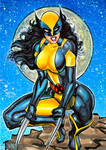 WOLVERINE X-23 PERSONAL SKETCH CARD 9/2015A