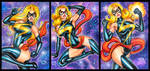 MS MARVEL PERSONAL SKETCH CARDS 12/2015 by AHochrein2010