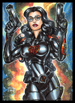 BARONESS PERSONAL SKETCH CARD 1-2016 by AHochrein2010