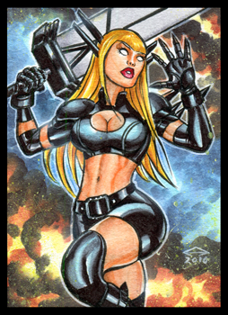 MAGIK PERSONAL SKETCH CARD ACEO by AHochrein2010