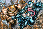 JUGGERNAUT VS. VENOM SKETCH CARD PUZZLE