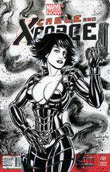 DOMINO SKETCH COVER by AHochrein2010