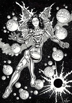 AVENGERS COMMISSION- REBE AS RESCUE