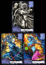 STAR WARS FAN DAYS SKETCH CARDS