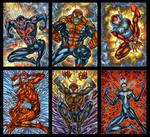 SPIDER-MAN UNIVERSE PERSONAL SKETCH CARDS 2020 by AHochrein2010