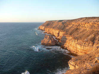 Cliffs in Kalbarri by Antmuzik77