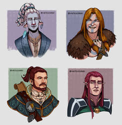 DnD Character portraits