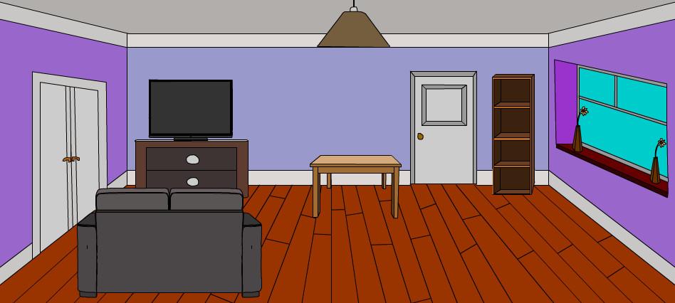 Survival instinct living room background by masendanx for Room design 2d