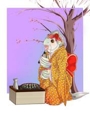 Sushi lover by Kamikatamari