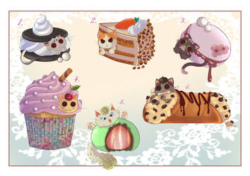 OPEN catcake adoptables !!!! by Kamikatamari