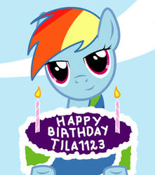 Happy Birthday ~tila1123!