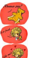 Choosing the name for Kuma-san