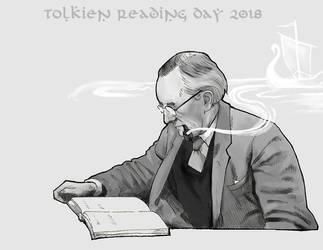 Tolkien Reading Day 2018 by DandyHerulokion