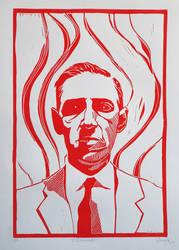 H.P.Lovecraft by DandyHerulokion