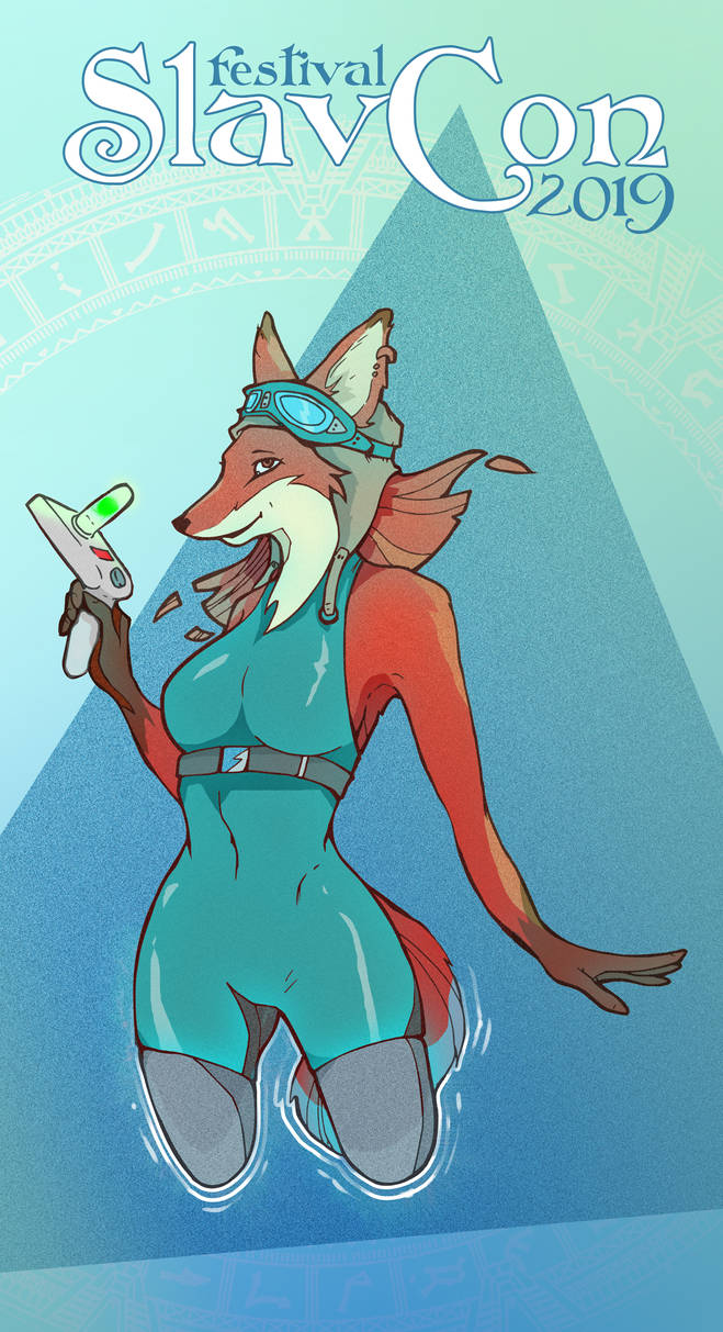SlavCon 2019 fox poster