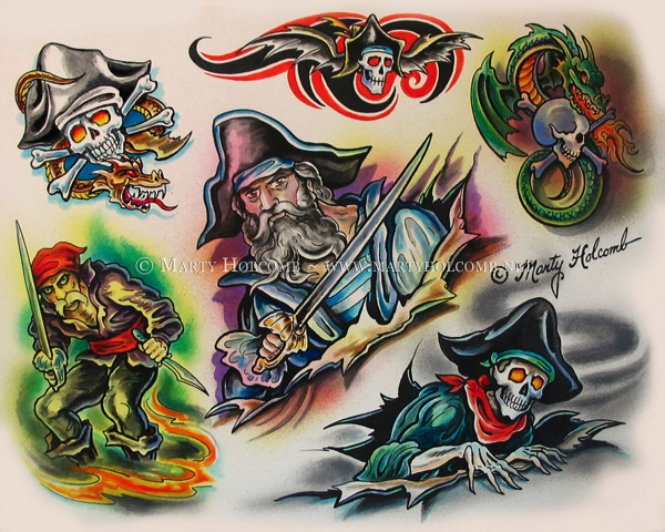 Pirates by Artistic-Tattooing