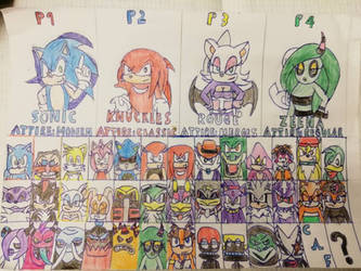 Sonic World Tournament by TheOneAndOnlyCactus