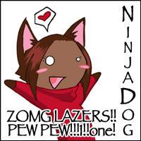 ND PEW PEW ID by NinjaDog