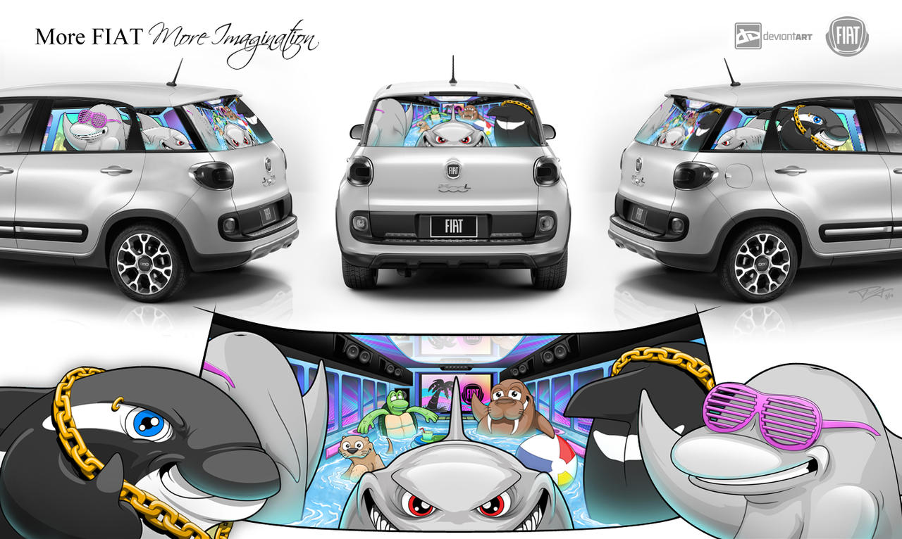 FIAT More Imagination Contest by Boochuchu