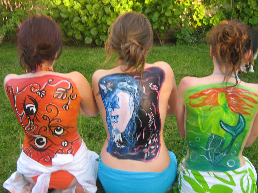 body paint by shannonscott