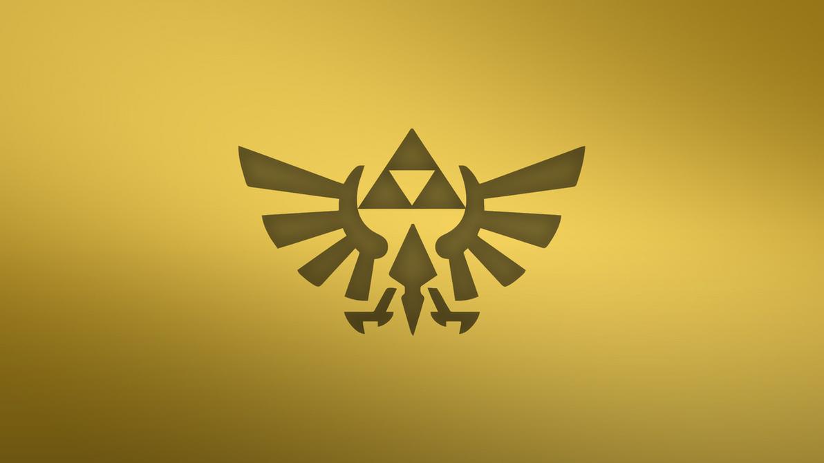 Zelda Wallpaper 1920x1080 Triforce Gold Triforce Wallpape...