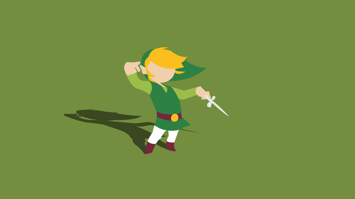 Minimal Wind Waker Wallpaper (With Shadow) by Cheetashock ...
